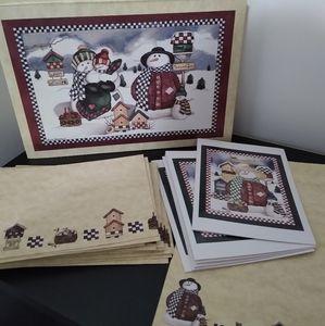NEW Laurie Korsgaden stationery box set